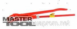"MasterTool  Ключ трубный 45° 1""(33.5мм), кованый, Арт.: 76-0761"