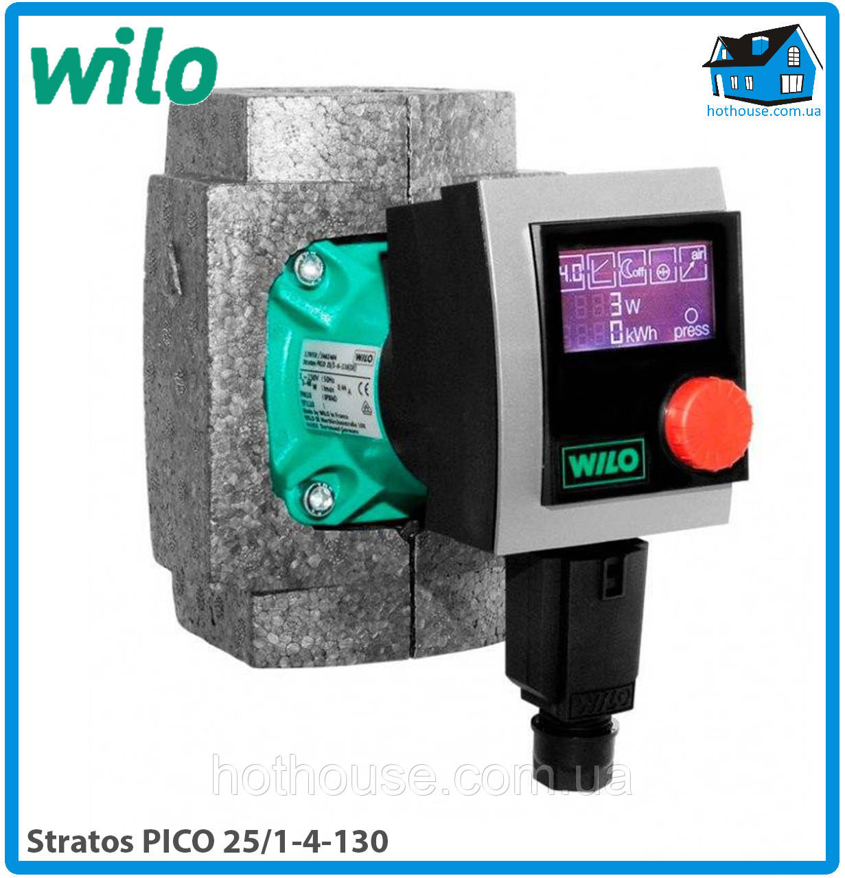 Насос циркуляционный Wilo Stratos PICO 25/1-4-130 (оригинал)