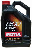 Motul 8100 X-clean 5W-40 - C3 5L