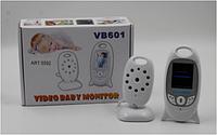 Видеоняня VB 601, Аккумуляторная видеоняня, Двухстороняя радионяня, Беспроводная видеоняня