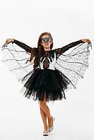 Летучая мышь карнавальный костюм для девочки \ размер 122-128; 134-140 \ BL - ДС218