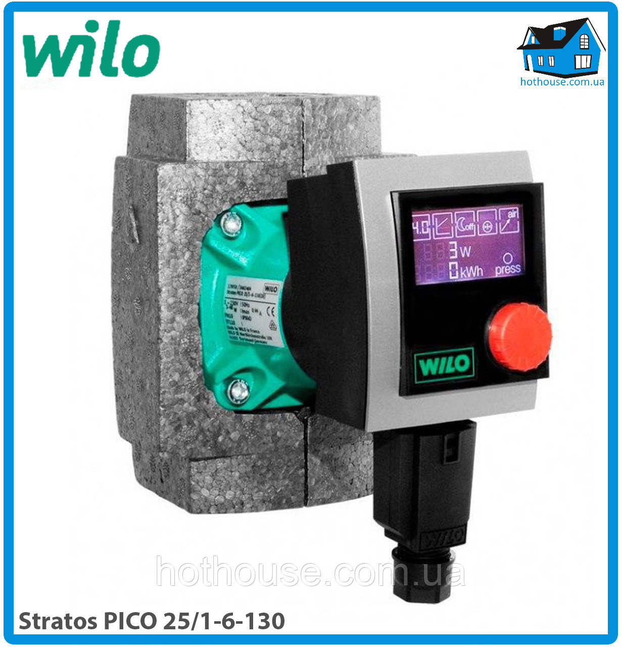 Насос циркуляционный Wilo Stratos PICO 25/1-6-130 (оригинал)