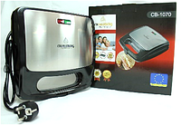 Sandwich Maker CB 1070 Crownberg, Вафельница, Бутербродница,Электросендвичница, Сэндвичница