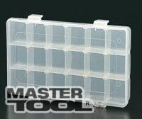 """MasterTool  Органайзер 18 секций, 9"""" (230*123*35 мм), Арт.: 79-3000"""