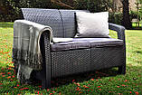 Мебельная гарнитура Corfu Love Seat Allibert Keter Curver, фото 10