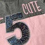 Розовый костюм на девочку Breeze 170. Размер 116 см, 140 см, фото 2