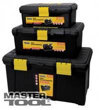 """MasterTool  Ящик для инструмента 16"""" (395*223*165 мм), пластиковые замки, Арт.: 79-2216"""