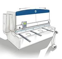 Гидравлические гильотинные с ЧПУ серии CHV