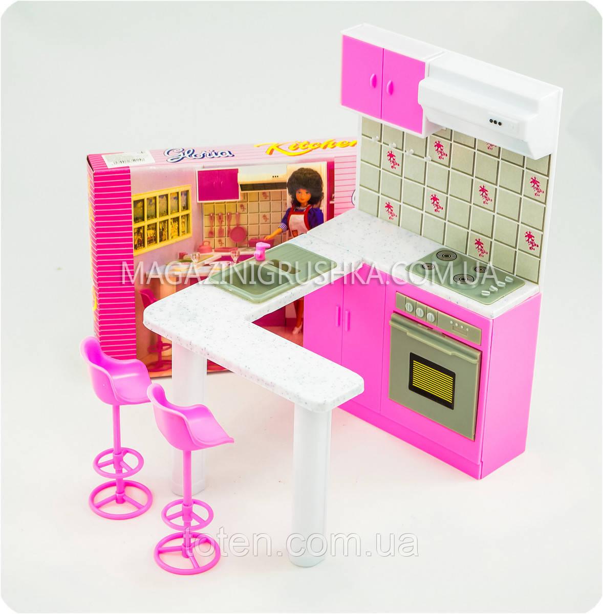 """Набор кукольной мебели Gloria 94016 """"Кухня принцессы"""""""