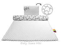 Комплект детское одеяло 75x100 + подушка Белый