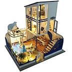 Крашеные кукольные домики