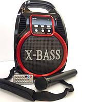 Радио RX 820 BT, Акустическая система караоке с микрофоном, Колонка комбик Bluetooth mp3, Бумбокс портативный, фото 1
