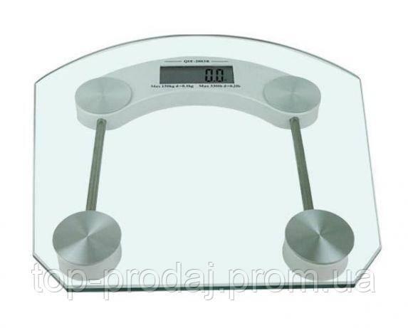 Весы ACS 2003B Квадратные, Прозрачные напольные весы, Весы для взвешивания, Весы для дома электронные