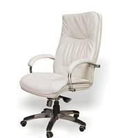 Кресло кожаное для руководителя «Палермо хром»