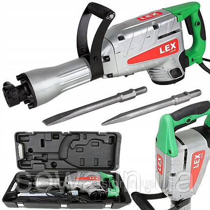 ✔️ Отбойный молоток электрический  LEX LXR29, фото 2