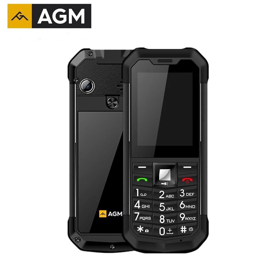Ударопрочный телефон AGM M3 - IP68, влаго-пылезащищенный Black
