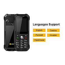 Ударопрочный телефон AGM M3 - IP68, влаго-пылезащищенный Black, фото 3