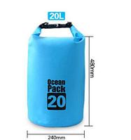 Водонепроницаемый рюкзак Ocean Pack 20 л, Водонепроницаемая сумка для плавания, Сумка мешок влагостойкая, фото 1