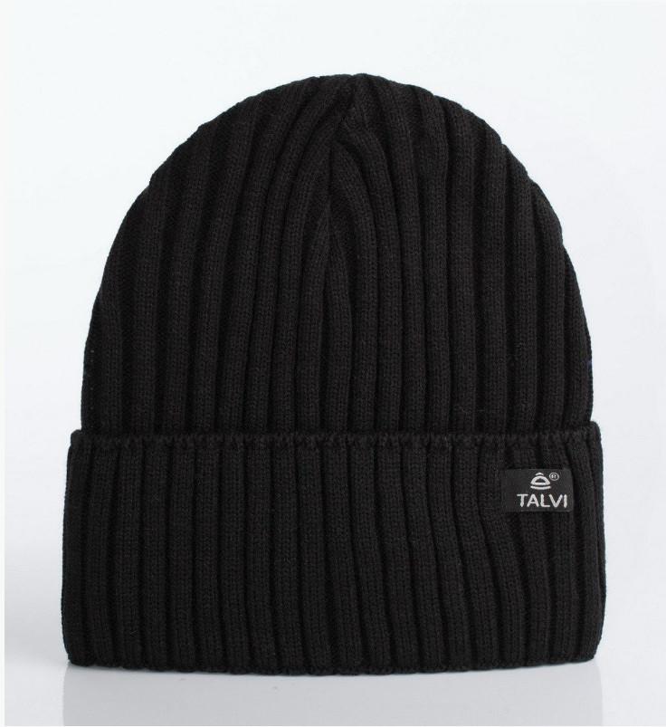 Черная шапочка для мальчиков Маркус