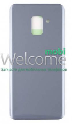 Задняя крышка Samsung A530 Galaxy A8 (2018) orchid gray, сменная панель самсунг а8, фото 2