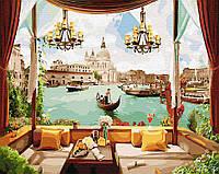 """Картина по номерам. Brushme """"Окно в Венецию"""""""