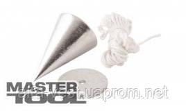 MasterTool  Отвес строительный металлический конусный, 300 г, Арт.: 30-0602
