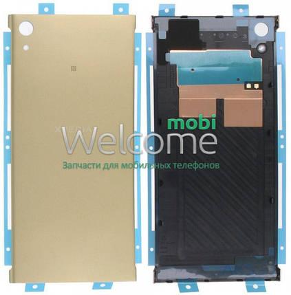 Задняя крышка Sony G3212 Xperia XA1 Ultra Dual gold, сменная панель сони иксперия ха1, фото 2