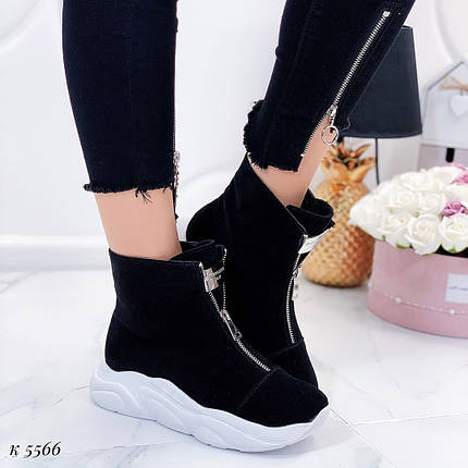 Ботинки с белой подошвой, фото 2