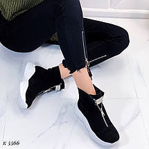 Ботинки с белой подошвой, фото 3