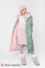 Зимнее двухстороннее пальто для беременных Tokyo OW-49.021 (Размер S, М)
