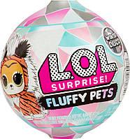 LOL Surprise Fuzzy pets! LOL пушистый Питомец Зимнее диско 559719, фото 1