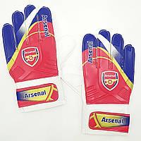 Перчатки вратарские FB-0187-6 ARSENAL (PVC, р-р 8-10, красный-синий), фото 1