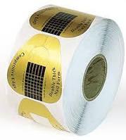"""Формы для наращивания ногтей """"Золото"""" - рулон 500 шт. (5,8 * 5,8 см.)"""