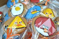 Пряник Angry Birds - Лучший подарок для мужчины, мальчика на 14 октября, День Защитника Украины