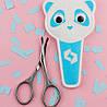 Ножиці для нігтів дитячі матові BEAUTY & CARE 10 TYPE 4 (21 мм), SBC-10/4, фото 3