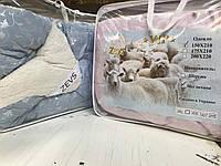 Одеяло меховое Zevs евро 200х220