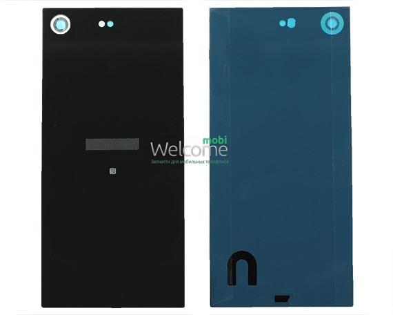 Задняя крышка Sony G8141 Xperia XZ Premium black, сменная панель сони иксперия