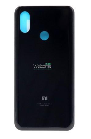 Задняя крышка Xiaomi Mi 8 black, сменная панель сяоми ксиоми