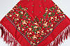 Платок павлопосадский шерстяной (140см) 606021, фото 2