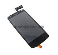 Дисплей HTC Desire 500 с сенсорным стеклом