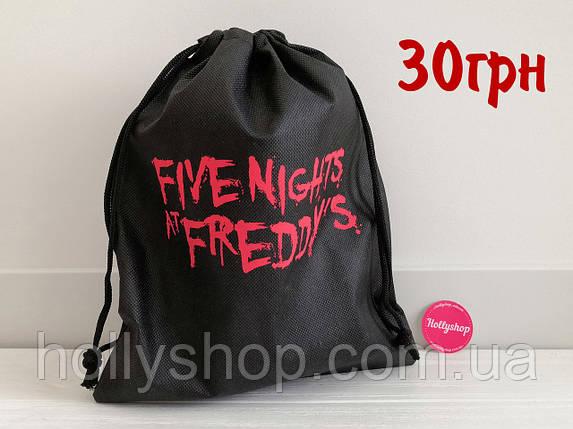 Мешок для игрушек 5 ночей с Фредди  аниматроники Фнаф fnaf Мешочек, фото 2