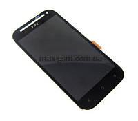 Дисплей HTC Desire SV T326e с сенсорным стеклом black