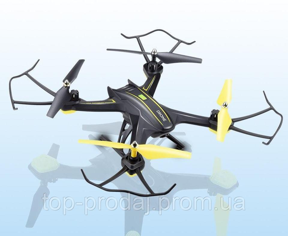 Квадрокоптер S6HW, Квадрокоптер c WiFi камерой, Беспилотник, Летающий дрон с камерой,Радиоуправляемый дрон