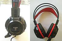 Наушники проводные X7 игровые с микрофоном