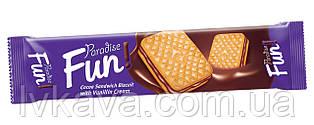 Печенье - сендвич Paradise Fun с шоколадным кремом Simsek , 70 гр