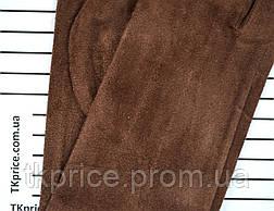 Женские трикотажные перчатки с сенсорными пальчиками без подкладки, фото 3