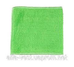 Салфетка для мытья посуды Supretto 18 х 23 см Зеленая (4875-0004)