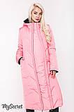 Зимнее двухстороннее пальто для беременных Tokyo OW-48.065 (Размер S М), фото 3
