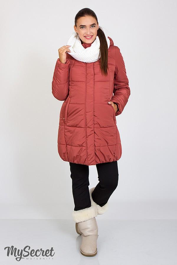 Теплая зимняя куртка для беременных Jena OW-46.092 (Размер L, XL)