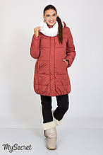 Тепла зимова куртка для вагітних Jena OW-46.092 (Розмір L, XL)
